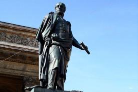 Памятник М. Б. Барклаю-де-Толли. Скульптор Б. Орловский, 1837 г.