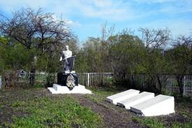 Братская могила в селе Кубань Покровского района Орловской области