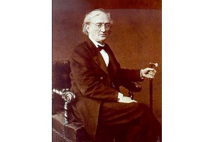 Федор Иванович Тютчев. Фотография С. Левицкого, 1869 г.
