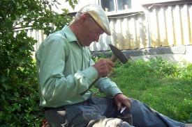 Один из последних жителей Трубицино — Феофилов