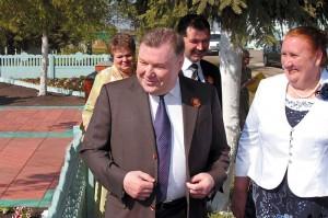 Губернатор Орловской области А.П. Козлов поздравил малоархангельцев