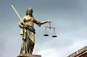 Осуждён за оскорбление судьи