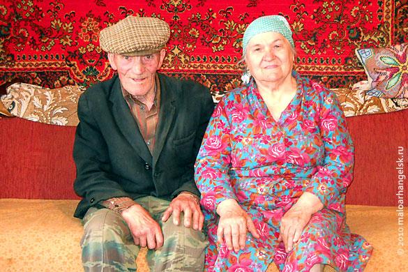 Скорятин Василий Герасимович с женой Зоей Григорьевной