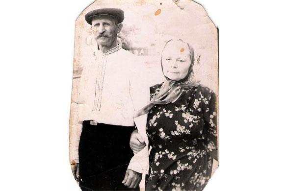 Старых. Фотография из семейного архива.