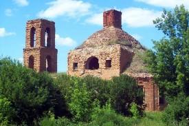 Вознесенская церковь в селе Александровское (Трубицино) Малоархангельского уезда Орловской губернии