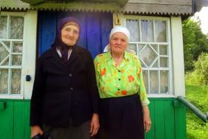 Бабушки деревни Хитрово