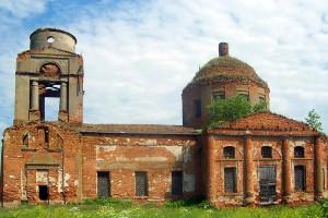 Богоявленский храм села Верхососенье Покровского района Орловской области