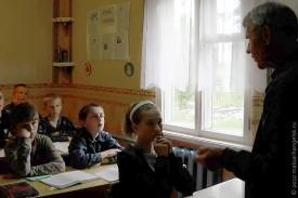 Школьники слушали Николай Михайловича Головина с неподдельным интересом