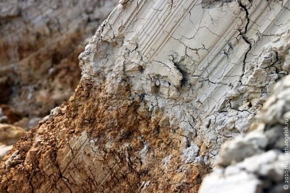 Тугоплавкая глина месторождения Малоархангельское-2