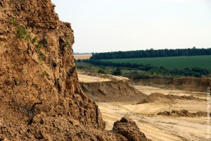 Велоровский карьер в Малоархангельском районе