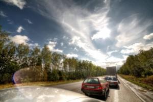 Дорога к Малоархангельску. Облака.