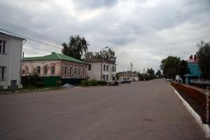 Малоархангельск, улица Урицкого, 2009 год.