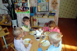 Обед в детском саду № 2