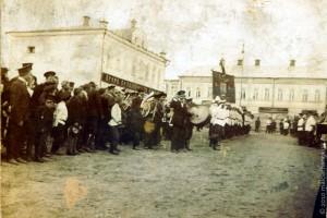 Малоархангельские пожарные. Фото из архива Козелковой Л. С.