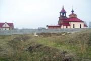 Вид на Дросковскую церковь со стороны деревни Башкатовой. 2010 г.