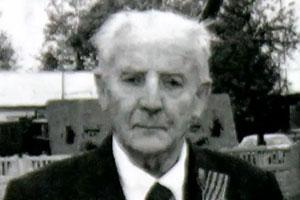 Ветеран Великой Отечественной войны Сергей Яковлевич Ештокин.