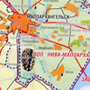 Карта Малоархангельского района Орловской области.