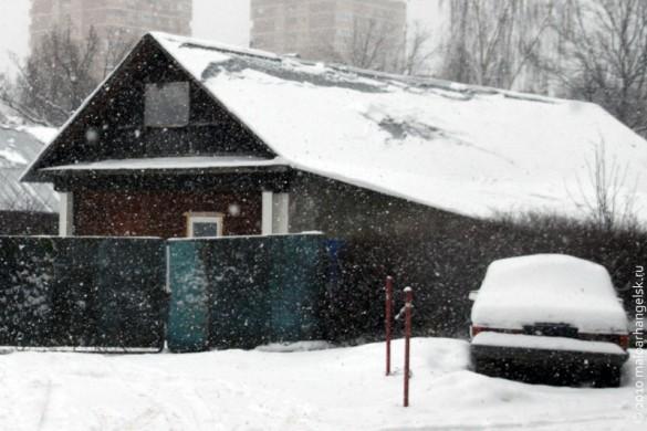 Снежный дом.