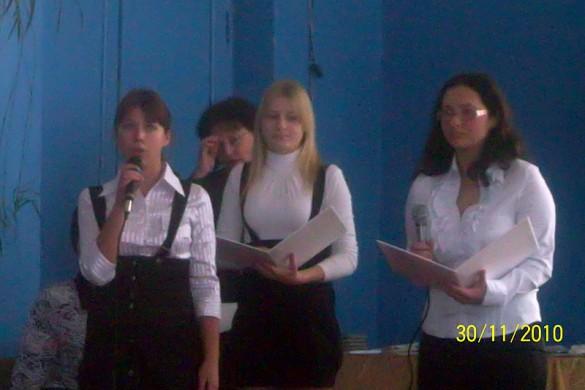 Стихотворения «Учитель» читала Калугина Яна.