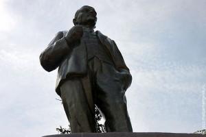 Памятник Ленину в Малоархангельске.