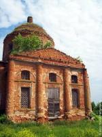 Богоявленский храм села Верхососенье в настоящее время.