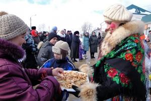 Масленица в Малоархангельске. 6 марта 2011 года.