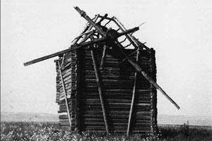 Мельница в Лесках. Фото: М. Скоробогатов, середина 1990-х годов.