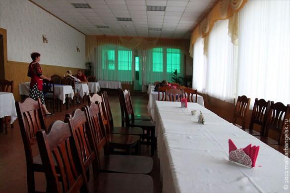 Ресторан Ливадия в Малоархангельске. Внутренний вид.