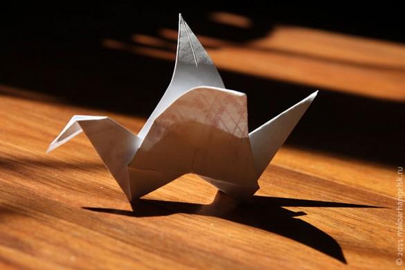 Японский журавлик.