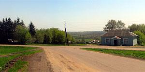 Панорама села Первая Ивань Малоархангельского района. Нажмите на изображение, чтобы перейти к осмотру (откроется в новом окне).