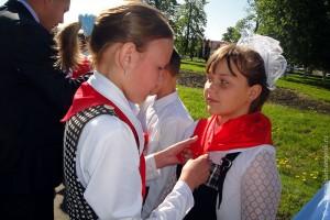 В Малоархангельске появились новые пионеры.