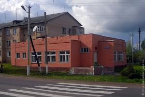 Художественное отделение школы искусств Малоархангельска находится в этом здании (фото 2011 года).