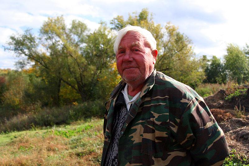 Житель деревни Сидоровка.