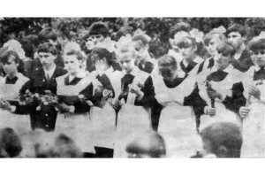 Выпуск Малоархангельской среднй школы 1987 года.