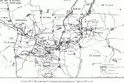 Положение 9-й армии противника на 7 июля 1943 года.