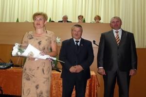 На конференции учителей в Малоархангельске, 2011 год.