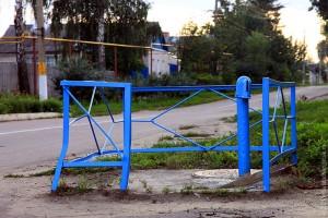 Водоразборная колонка на углу Ленинской и Советской. Не работает.