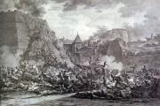 Штурм Очакова. Гравюра Берга, 1792 г.