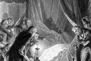 Убийство Павла (гравюра Ж. Утвайта).