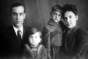 Семья Ефремовых. 1953 год.