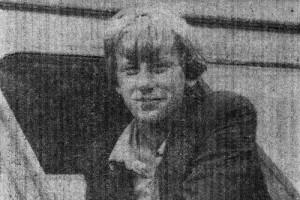 Виктор Красников, механизатор колхоза имени Калинина.
