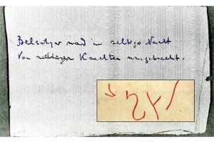 Надписи из Ипатьевского дома.
