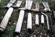 Набор инструментов для изготовления валенок.