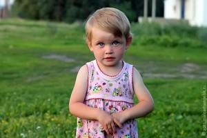 У этой девочки тоже имя непростое — Ангелина.