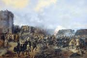 Бой на Малаховом кургане (картина Григория Шукаева).