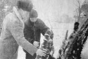 Ветераны Великой Отечественной на малоархангельской земле. 2003 год.