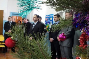 Депутаты на депутатской ёлке.