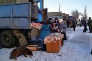 Предновогодняя ярмарка в Малоархангельске, 2011 год.