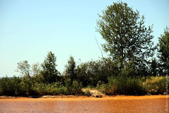 Мостик на Плещеевском озере.