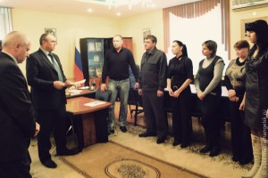 Молодые семьи Малоархангельского района получили жилищные сертификаты.